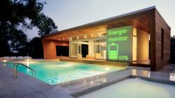 Das Themenbild Smart Home zeigt ein digital gesteuertes Haus.