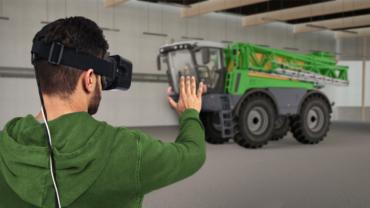 VR-Brillen der Gamer vermitteln Know-how und Praxiserfahrung im Umgang mit Maschinen und Anlagen.