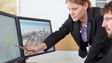 Neuentwickelte 3D-Stadtmodelle ermöglichen auch den Blick in den Untergrund