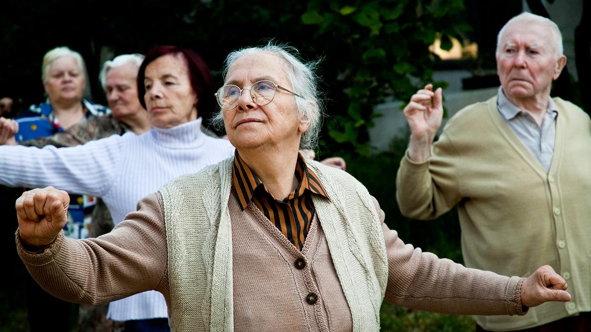 Erforschte Bewegung im Alter