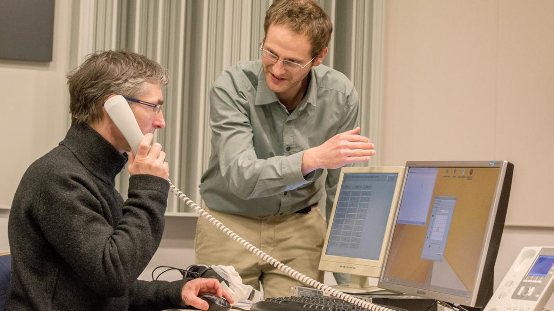 Die Lösungen zur intelligenten Assistenz am Telefonarbeitsplatz werden im realen Call-Center-Betrieb getestet.
