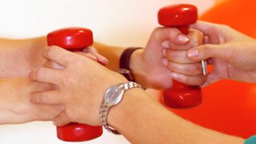 Ambiente Medizintechnik und Live-Schaltung zum Therapeuten sichern den Erfolg von Rehabilitationsmaßnahmen