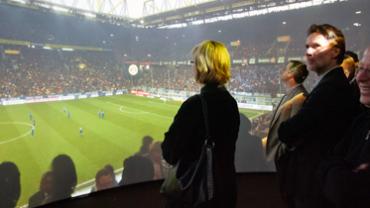 Public Viewing in Premiumqualität: Mittendrin und (fast) dabei