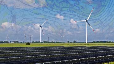 AICAST von Fraunhofer IOSB und PVCAST von Fraunhofer ITWM liefern standortgenaue Ertragsprognosen und machen so Wind- und Sonnenstrom berechenbar.