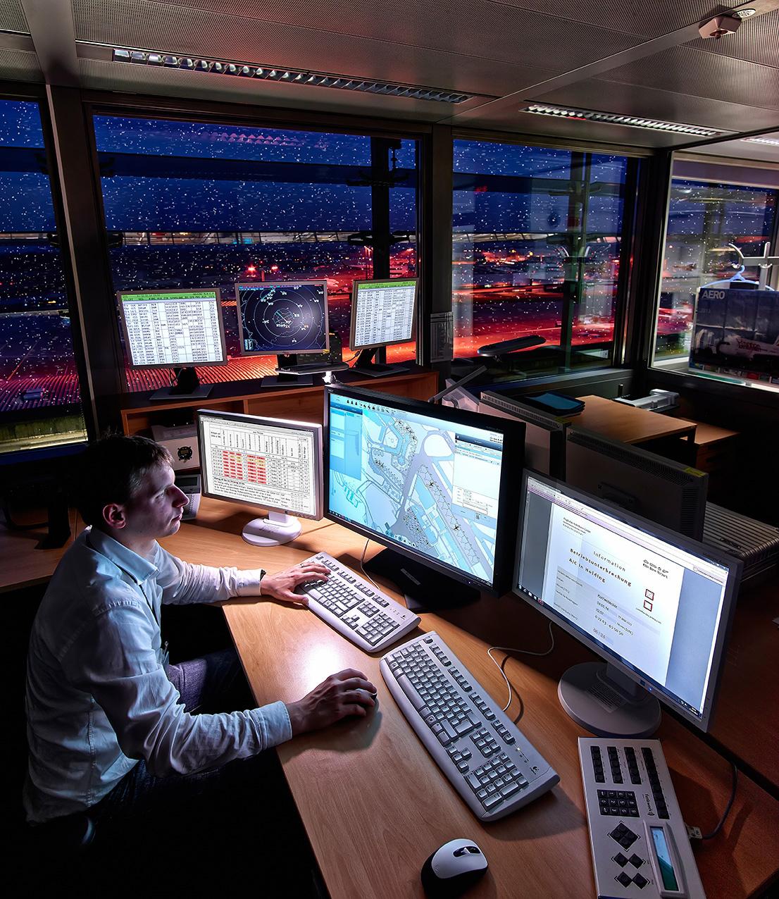 IT-Unterstützung für operative Flughafenprozesse