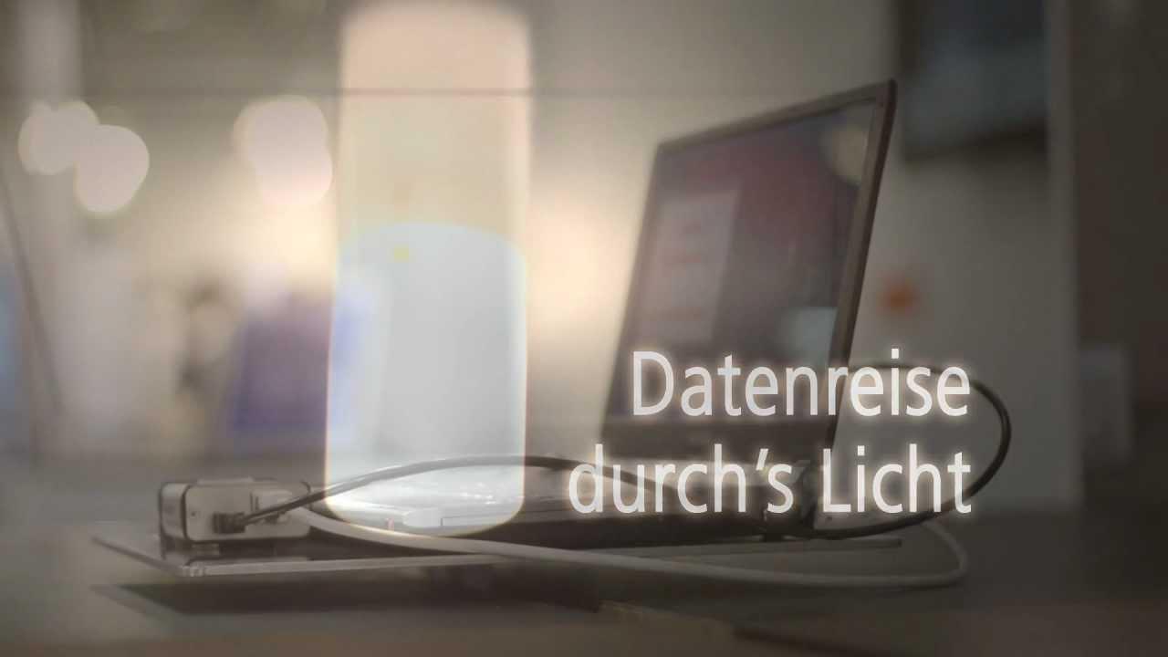 Visible Light Communication: Datenreise durch's Licht